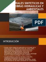 MATERIALES SINTETICOS EN OBRAS HIDRAULICAS Y AMBIENTALES diapositivas.ppt