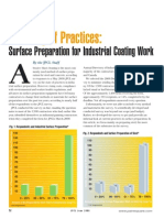 A Survey of Practices Surface Preparation for Industrial Coating Work