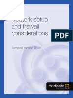 TP-01 Mediasite and Firewalls
