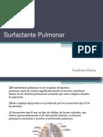 Surfactant e Pulmon Ar