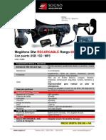 Ficha Megáfono 50w Recargable Rango 800 Mts Ct1000 (1)