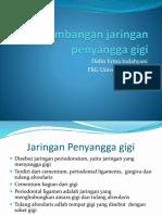 Perkembangan jaringan penyangga gigi.pptx