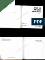 Atlas Des Mineraux Metalliques-Picot