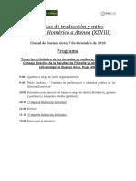 Programa traduccion