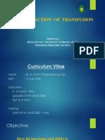 2. Reaksi Akut Transfusi