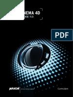 Cinema 4D Curriculum R11.5 US Low-res