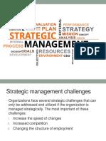 استراتيجية المحاضرة الثالثة