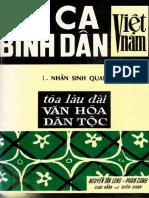 Thi Ca Binh Dân VN 1_ 1969