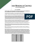 Lei Ordinaria 2432 1997
