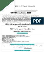 MECON Recruitment 2018....pdf