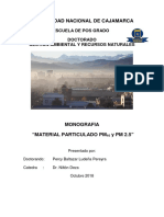Pm10 - Pm2.5. Monografia Epg Unc