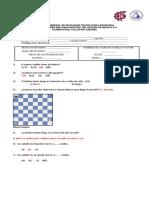 examen final de ajedrez