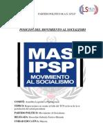 POSICIÓN DEL MOVIMIENTO AL SOCIALISMO.docx