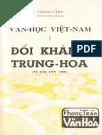 Văn Học Việt-nam Đối Kháng Trung-hoa