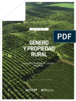 Genero y Propiedad Rural Del NOA