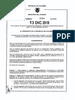 Decreto No. 2289 (1)