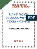2 Año Plan de Dominio de Conocimiento2017