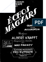 Sheets_Albert Krafft & Max Francy (Degré 4 Genre) - Echos Magyars