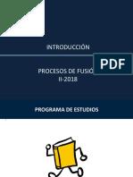 Introduccion Procesos de Fusion v.1