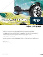 SwagTron T1 Official Manual
