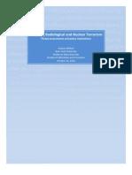 Kayvon Afshari- Analyzing Radiological and Nuclear Terrorism