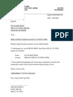 Surat Perlantikan PJPK