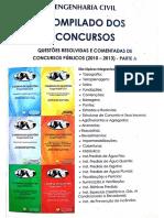 Engenharia Civil- Compilados Dos Concursos 2010-2013 Parte A