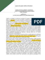 LA FORMACIÓN DEL ESPÍRITU CIENTÍFICO
