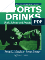 Sports Drinks Basic Science and Practical Aspects - Ronald J. Maughan, Robert Murray