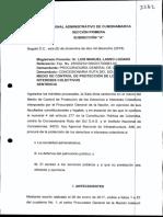 Fallo del Tribunal de Cundinamarca contra Odebrecht