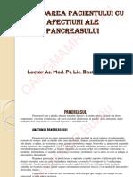 Abordarea Pacientilor Cu Afectiuni Ale Pancreasului