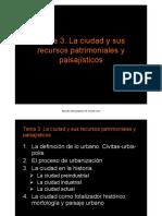 Geografía Tema 3