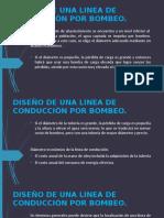 3.2. DISEÑO DE UNA LINEA DE CONDUCCIÓN POR BOMBEO.ppt