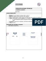 Especificaciones Tecnicas Todo El Kits Brigada Hospitalaria 2018