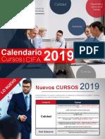 -Calendario CIFA 2019-