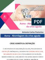 Asma - Abordagem da crise aguda