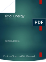 Physics Tidal Energy