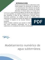 modelos numéricos de flujo de agua subterrnea