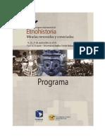 X Congreso Internacional de Etnohistoria (ANEXO)