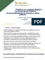 Comunicação Pública - SemeAd