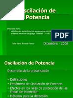 Oscilación de Potencia (presentación PDT 21-12-2006)