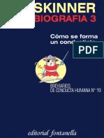 b f Skinner Autobiografia 3