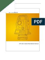 ZTS-320 User Manual