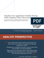 It Visualize Your Application Portfolio Strategy With a Business Value Driven Roadmap Executive Brief V1