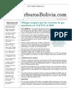 Hidrocarburos Bolivia Informe Semanal Del 11 Al 17 Oct 2010