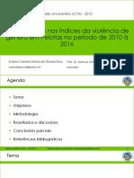 Apresentação I Simposisio Genero Ufpel 2016-1