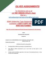 Dm03 Organizational Behaviour