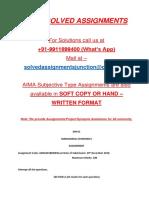 Dm01 Managerial Economics