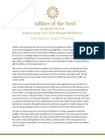 Qualities of the Soul