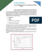 Sintonizacion de Parametros Pid